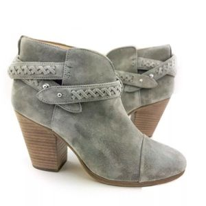 rag & bone harrow woven suede boots